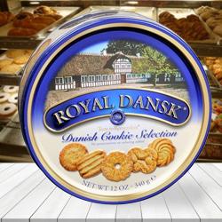 Royal Dansk Assorted Cookies to Howrah