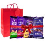 Memorable Cadbury Dairy Milk Savory Souvenir to South 24 parganas