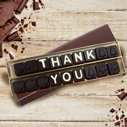 Thank You Messenger Homemade Chocolate to Hooghly