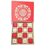 Box Full of Delicious 16 Pcs. Handmade Chocolates to North 24 parganas