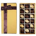 Glorious Box of Homemade 18 Pcs. Chocolates to Birbhum