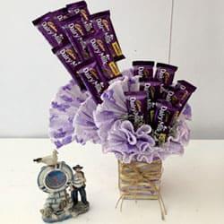 Yummy Chocolate Arrangement to Cooch behar