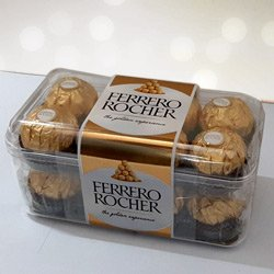 Delecious 16 pcs  Ferrero Rocher Chocolates to Jalpaiguri