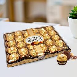 box of 24 pcs Luscious Ferrero Rocher Chocolates to Dumdum