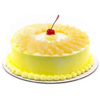 Appetizing Pineapple Cake from Taj or 5 star Hotel bakery to Hooghly