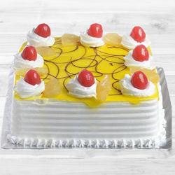 Eggless Pineapple Cake to Dakshin dinajpur