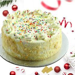 Best Dessert Treat of 2 Kg Vanilla Cake to Medinipur