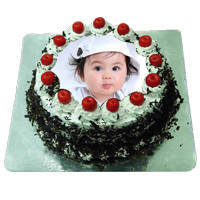 Fanciful Palate 1 Kg Black Forest Photo Cake to Maldah