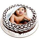 Texture-of-Pleasure 1 Kg Chocolate Photo Cake to Howrah