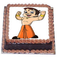 Cheerful Choice Chota Bheem Cake to Salt lake