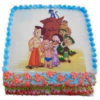Indulgent 2.5 Kg Chota Bheem Cake to Bakura