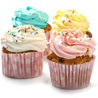 Mouth-watering Selection of Cup Cakes (4 Pcs.) to Dumdum
