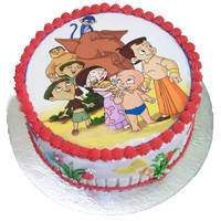 Grand-to-Gobble Chota Bheem Cake to Burdwan