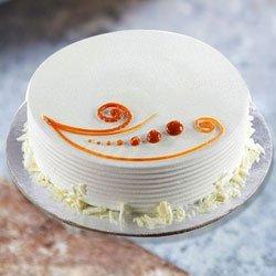 Oven-Fresh 1 Lb Vanilla Cake to Koch bihar