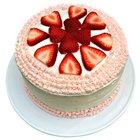 Luscious Happiness Fresh Fruit Cake to Salt lake
