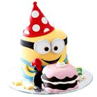 Adorable Ambrosia Minion Theme Cake to Behala
