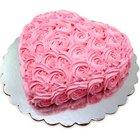 Candy-Coat Attachment Heart Shaped Designer Cake to Dumdum