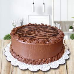 3/4 Star Bakery's Exotic Enjoyment 2.2 Lb Chocolate Cake to Behala