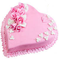 3/4 Star Bakery's Toothsome Intimacy 2.2 Lb Love Cake to Hooghly