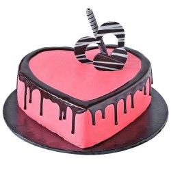 3/4 Star Bakery's Toothsome Intimacy 2.2 Lb Love Cake to Birati