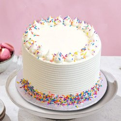 Invitation of Heart 1 Lb Vanilla Cake from 3/4 Star Bakery to Medinipur