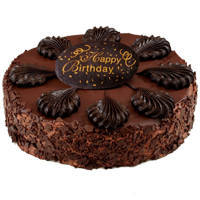 Sublime 2.2 Lbs Chocolate Cake from 3/4 Star Bakery to North 24 parganas