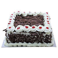 Sumptuous Black Forest Cake to Nadia