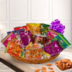 Divine Snacks Hamper for Festive Celebration to Garia