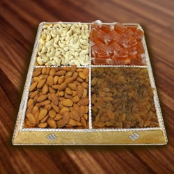 Piquant Dry Fruits Collection to Garia