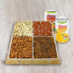 Gratification's Dream Dry Fruit and Beverage Cluster to Madhyamgram