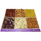 Extravagant Diet Dry Fruit and Chocolate Cluster to Lake town