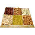 Treating Luxury Dry Fruit Assortment to Birati