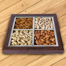 Warming Spirits Dry Fruit Platter to Garia