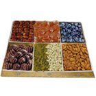 Arrayed Grub Dry Fruit and Chocolate Platter to Behala