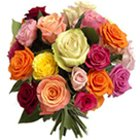 Charming 24 Mixed Roses with Style to Nadia