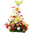 Special Arrangement of Beautiful Mixed Flower with Passion to Salt lake