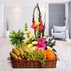 Captivating Flowers and Luscious Fresh Fruits with Bountiful Joys to Birati