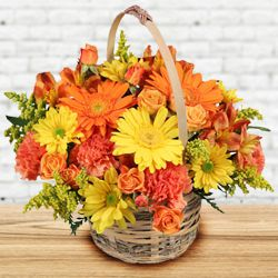 Enchanting Fresh Seasonal Flowers Bouquet of Love and Happiness to Hooghly