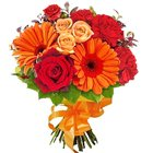 A Hand Bunch of Assorted Flowers to Barasat