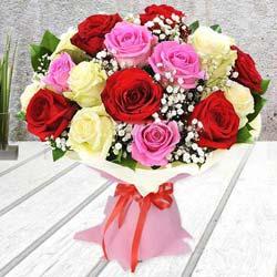 Breathless Luxury Mixed Rose Premium Bouquet to Salt lake