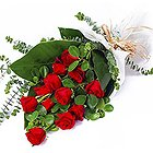 Hearts in Harmony Red Roses Bouquet to Hooghly