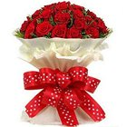 Heavenly Premium Bouquet of Gorgeous Roses to North 24 parganas