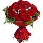 Royal Enchantment 12 Roses Bouquet to Barasat