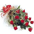 Sophisticated Dreams From Heart 12 Red Roses Bouquet to Salt lake
