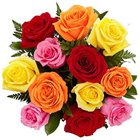 Stunning Stands for Love Mixed Roses Arrangement to Burdwan
