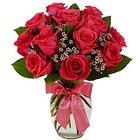 Pure Indulgence Red Roses in a Vase to Birbhum