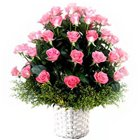 Eye-Catching Collection of Roses in Pink Colour to Maldah