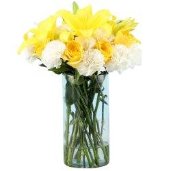 Illuminated Eagerness Flower Medley to Jalpaiguri