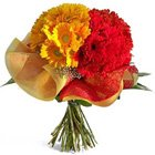 Glistening Grace Gerberas Special Bouquet to Dakshin dinajpur