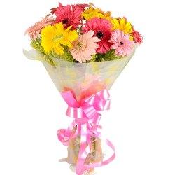 Designer Bouquet of Assorted Gerberas  to South 24 parganas